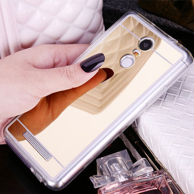 Luxury Mirror Cases -  For Redmi Note 3 4 Redmi Note 3 Pro  Note3 Note4