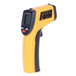 L15 Digital Infrared Thermometer For Food or Cooking Temperature. Non-contact Laser Shape. Equipped with Light Non for Babies or Adults.