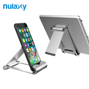 Axy Phone Holder Tablet Stand - Foldable Stand for Desk Mobile Phone &r Tablets
