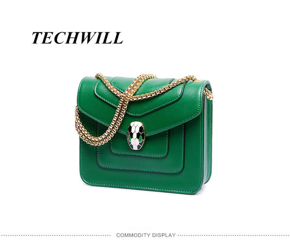 Personality Snake Lock Decoration Women handbag 2017 Big Luxury Evening Party Clutch Women's Leather Bag Alligator Famous Brand