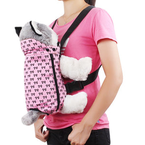 DD-Friend Carrier Backpack. Dog Carrier. Portable or Shoulders backpack For Easy Travelling and Outdoor Fun.
