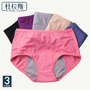 Uni7 Menstrual Underwear. Best Menstrual Leakproof Panties.  Excellent Ladies Protection  Underwear - Moisture Absorbent - Day and Night....