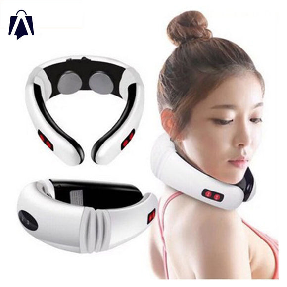 Pulso Massager.  Neck Impulse Massager.  Physiotherapeutic Acupuncture Neck Pain Solution. Therapy Relief Pain Tool