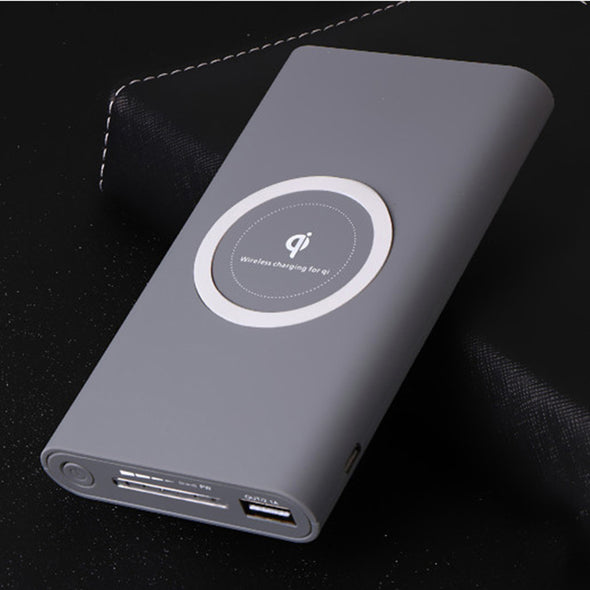 Y22 - Wireless Charger. Power Bank For iPhone X 8 Plus Samsung Note 8 S8 Plus S7 S6. Portable Powerbank For Mobile Phones Qi Charger- 20000mAh