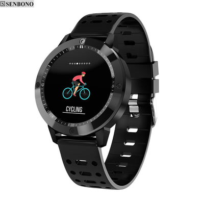 CF58 SmartWatch. Waterproof. For Outdoor Activities, Sports & Fitness. Equipped with Tracker & Heart Rate Monitor. For Men & Women.