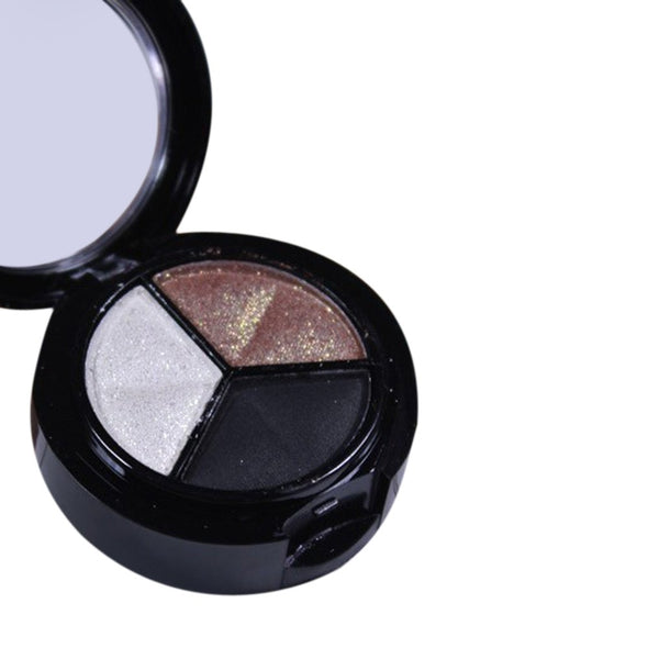 Smoky3 colored Professional Natural Matte Makeup and Eye Shadow.The Best makeup ever. Enhance your look with Great Colors.