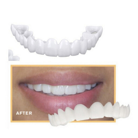 OSmile Dental. Teeth Whitening Dental Snap On Smile. One Size Smile. Fits Comfortably. Perfect Smile. Fake Tooth Cover .