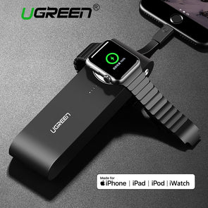 Wireless Charger for Apple Watch . MFi Certified . Portable Power Bank for iPhone X/8 /7 [3/2/1 38mm & 42mm`]