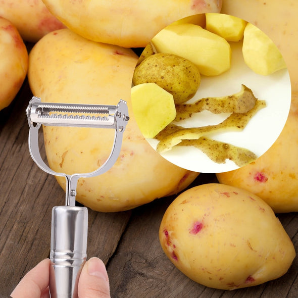 Vegetable Utensils Peeler Multifunction Julienne Peeler Stainless Steel Kitchen Accessories Double Planing Grater Cooking Tools