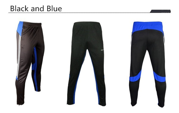Soccer Training Pants Men Joggers Slim Skinny Jogging Running Tights Trousers Tracksuits Bottoms survetement football 2017