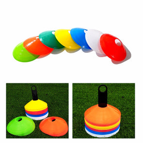Cones Marker Discs - Soccer Football Training Sports - 10 pcs/lot 19cm -New !!!