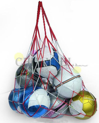 Net Bag Portable Equipment -Soccer/Football Balls - Volleyball ball
