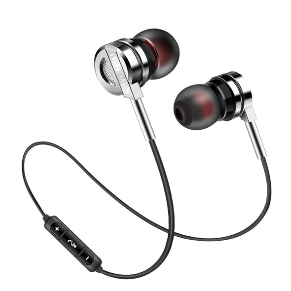 Wireless Metal Headphone PTM BM5 Earphone Bluetooth 4.2 Headset Super Bass Earbuds With Mic for Mobile Phone PC DJ