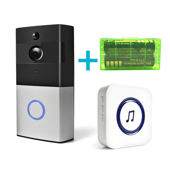 Wireless Video Doorbell - For Your Home Security with Night Vision and a Great Image 720P HD- IR Alarm Security Camera