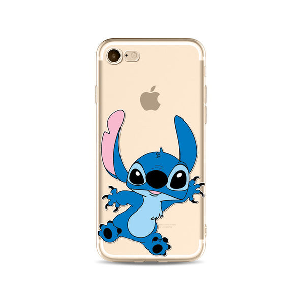 Cartoon Mickey Clear Phone Case For Apple iPhone