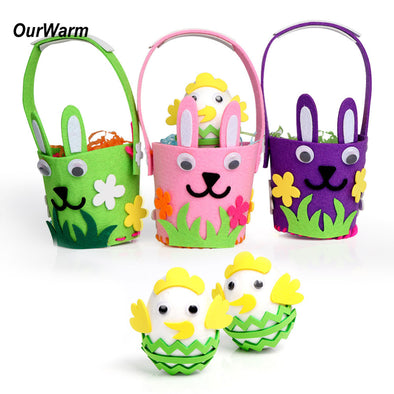 Easter Basket Eggs - Package for Easter Decoration