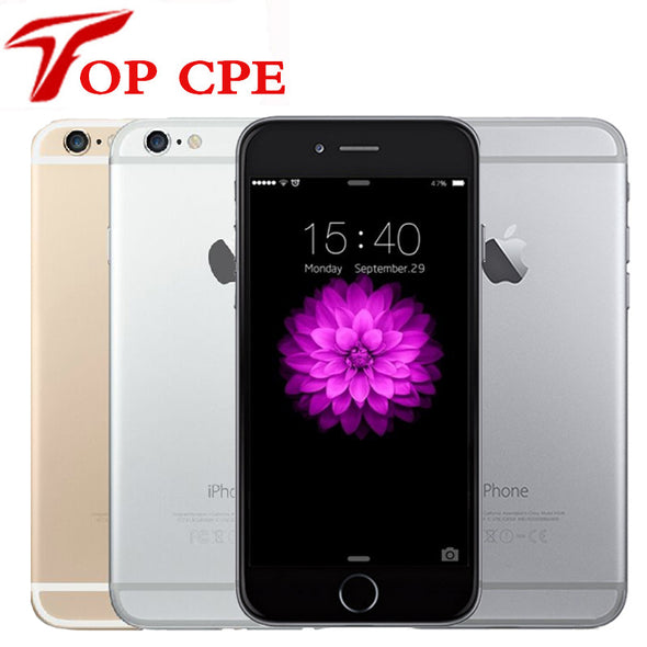 "Iphone6 Unlocked Original Apple iPhone 6 inch 4.7 6 Plus inch 5.5"" LTE Mobile Phone 16GB/64GB/128GB IOS Wifi 1080P 8MP Dual Core"