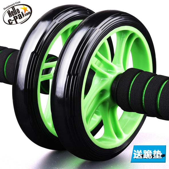 C Movement Abdominal Wheel Genuine Mute Abdominal Wheel Abdomen Fitness Equipment Household Roller Wheel Abs Push Ups