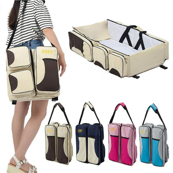 T3-Travel BabyBag. Multi-function portable Travel Bed. Great Cradle  For Newborns. Also  Changing Diapers.  Awesome Newborn Crib.
