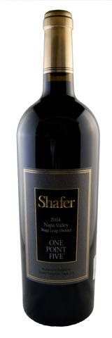2014 Shafer Vineyards One Point Five Cabernet Sauvignon - 97 pts WE - Limited Availability