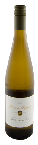 2015 Gewurztraminer, Thomas Fogarty, Monterey County