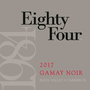 2017 Eighty Four Wines Gamay Noir, Los Carneros