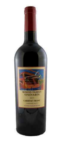 2015 Cabernet Franc - Wood Family Vineyards, Livermore Valley - 91 pts WE