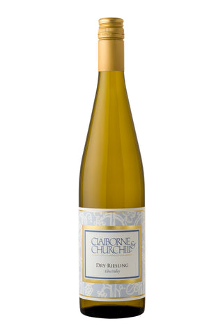 2018 Dry Riesling, Claiborne & Churchill, Edna Valley - 92pts WE