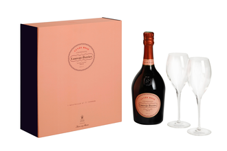 Laurent Perrier Cuvee Rose Box Glass Set