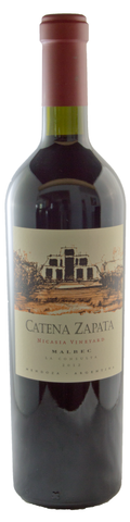 2012 Catena Zapata, Mendoza Malbec Nicasia Vineyards - 95 pts WA - Limited Availability