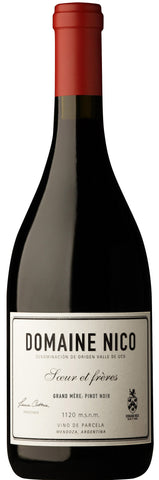 2017 Domaine Nico Grand Mere Pinot Noir, Valle de Uco Argentina