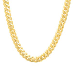 8 MM Solid Gold Miami Cuban Link Chain Yellow White Rose Gold