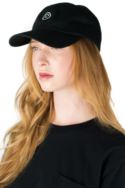 SMILEY BAD HAT (BLACK)