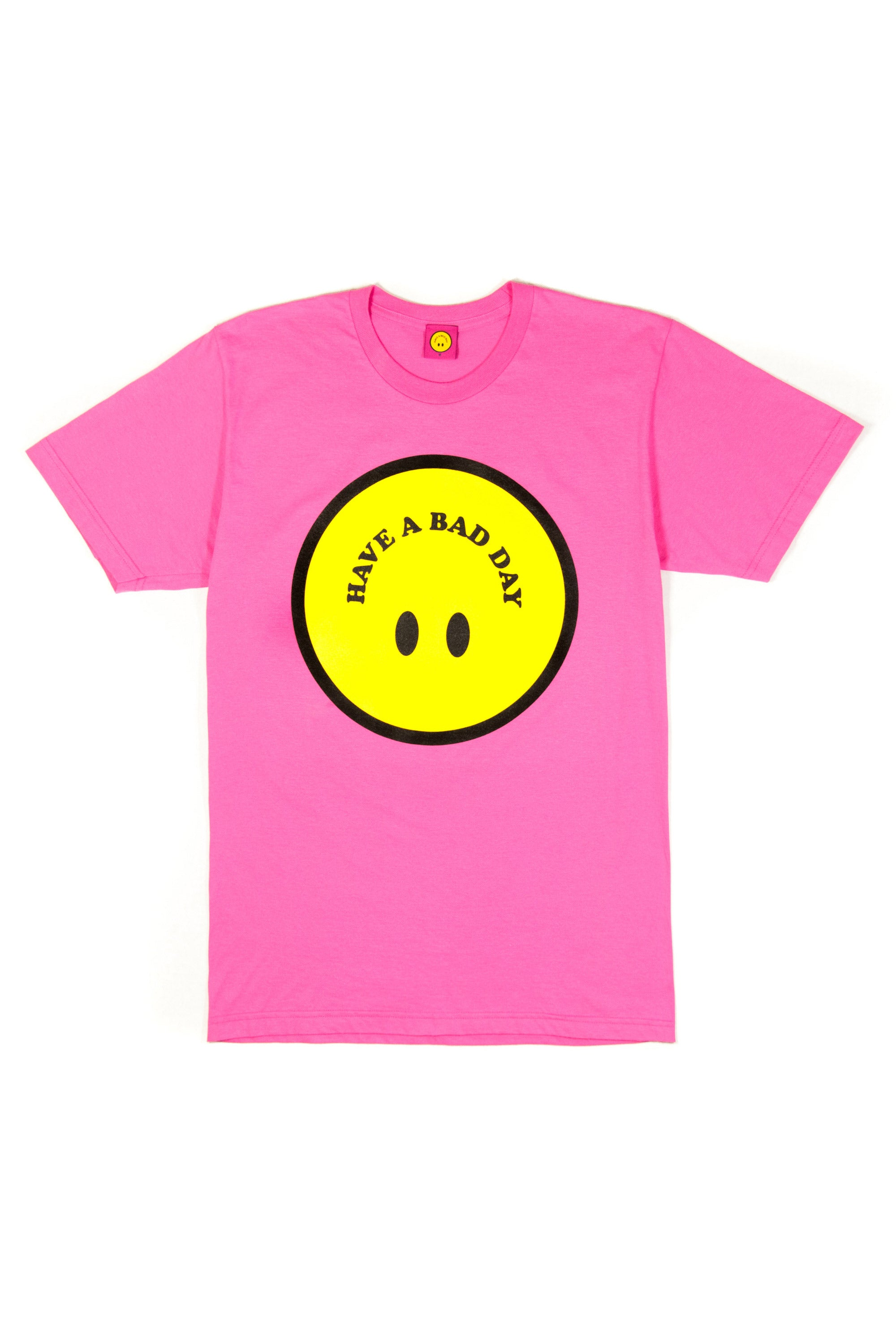 SMILEY TEE (PINK)