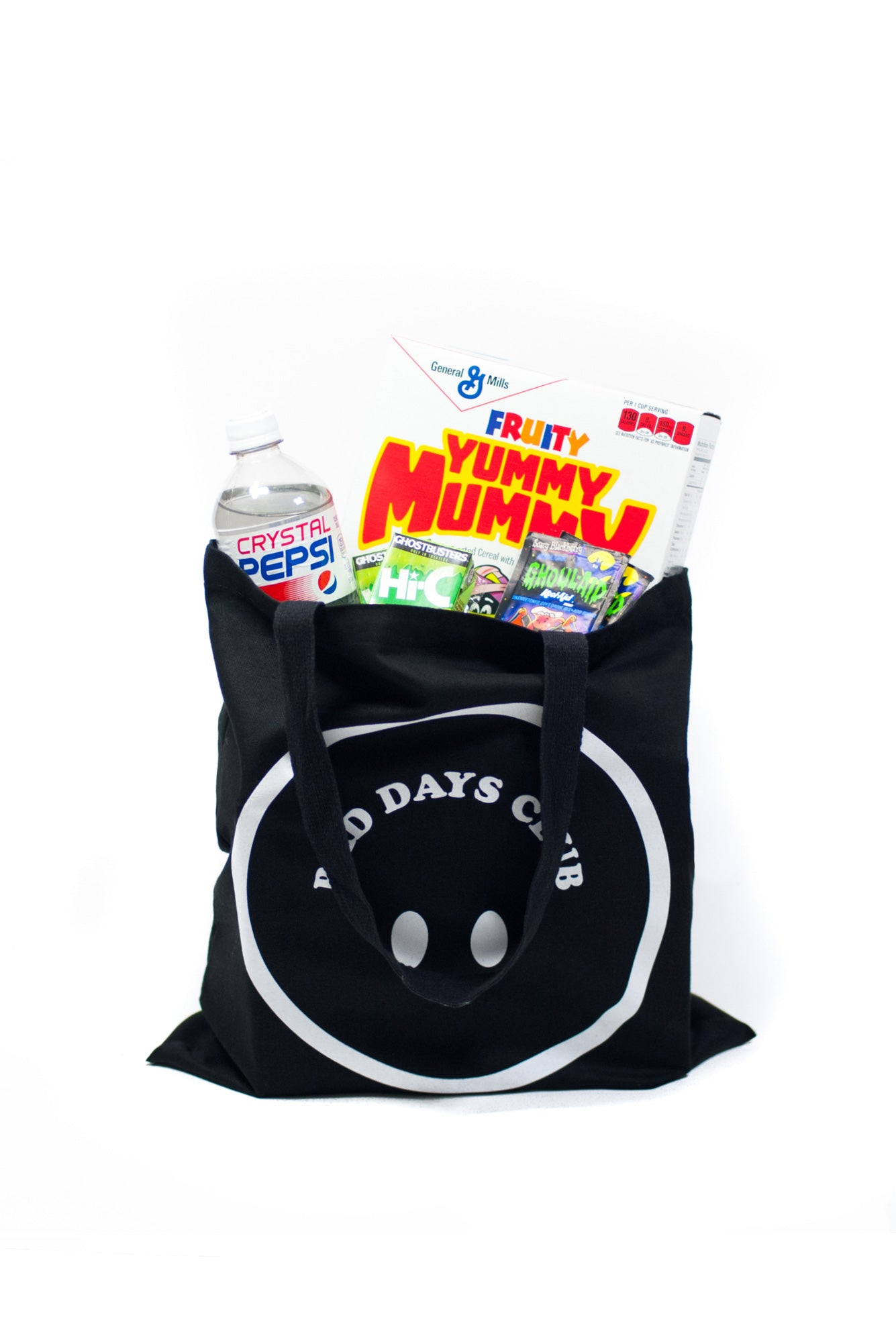 SMILEY TOTE (BLACK)