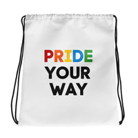 Limited Edition - Pride Your Way - Drawstring Bag