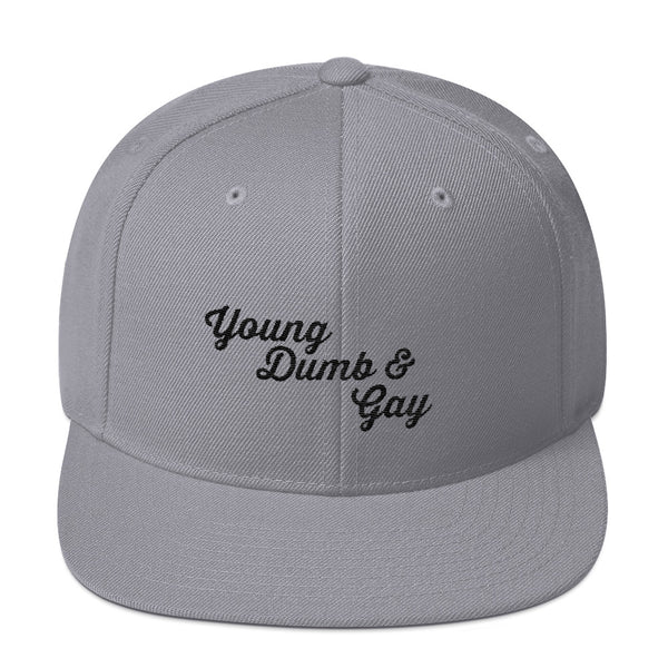 Young Dumb & Gay - Snapback Hat