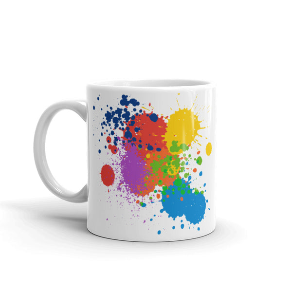 Paint Splatter - Mug