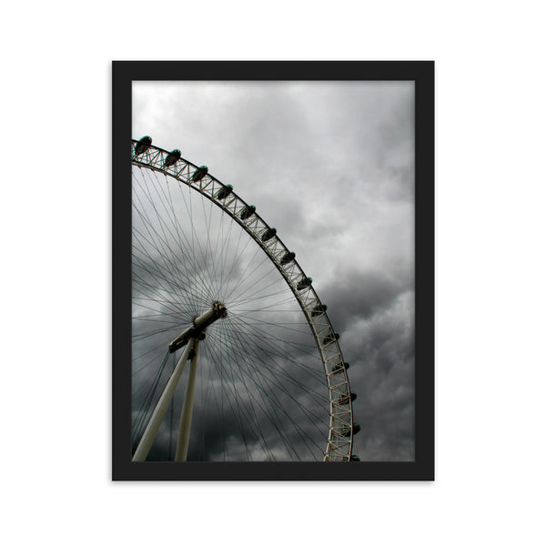 London Eye - Framed Matte Poster