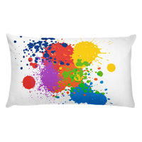 Paint Splatter - Basic Pillow