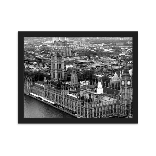 London - Framed Matte Poster