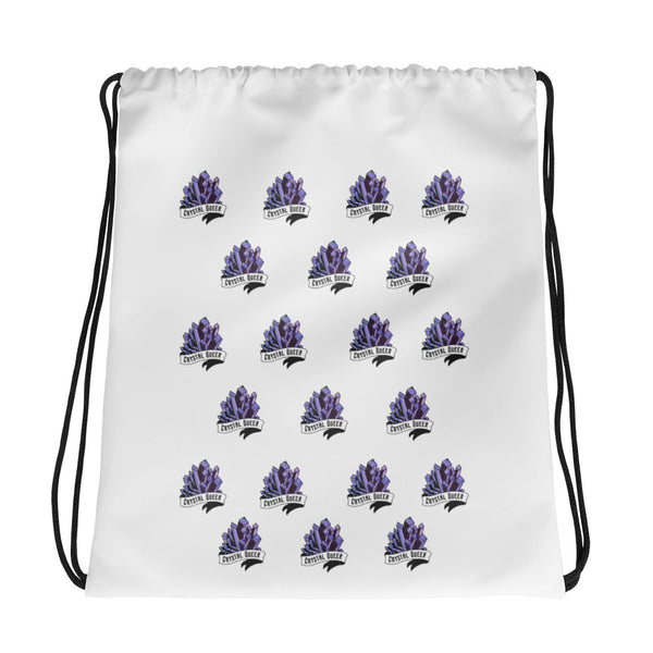 Crystal Queer -Drawstring Bag