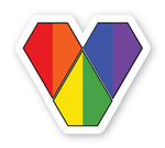 Limited Edition - Pride Heart Decal