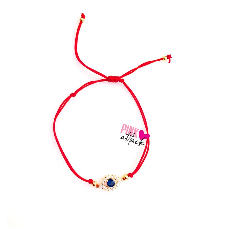 Evil Eye Red String Bracelet