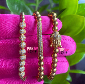 Trio Beaded Bracelet Set