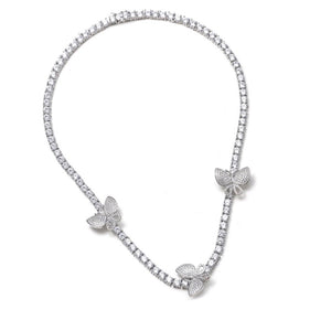 Mariposa Tennis Necklace