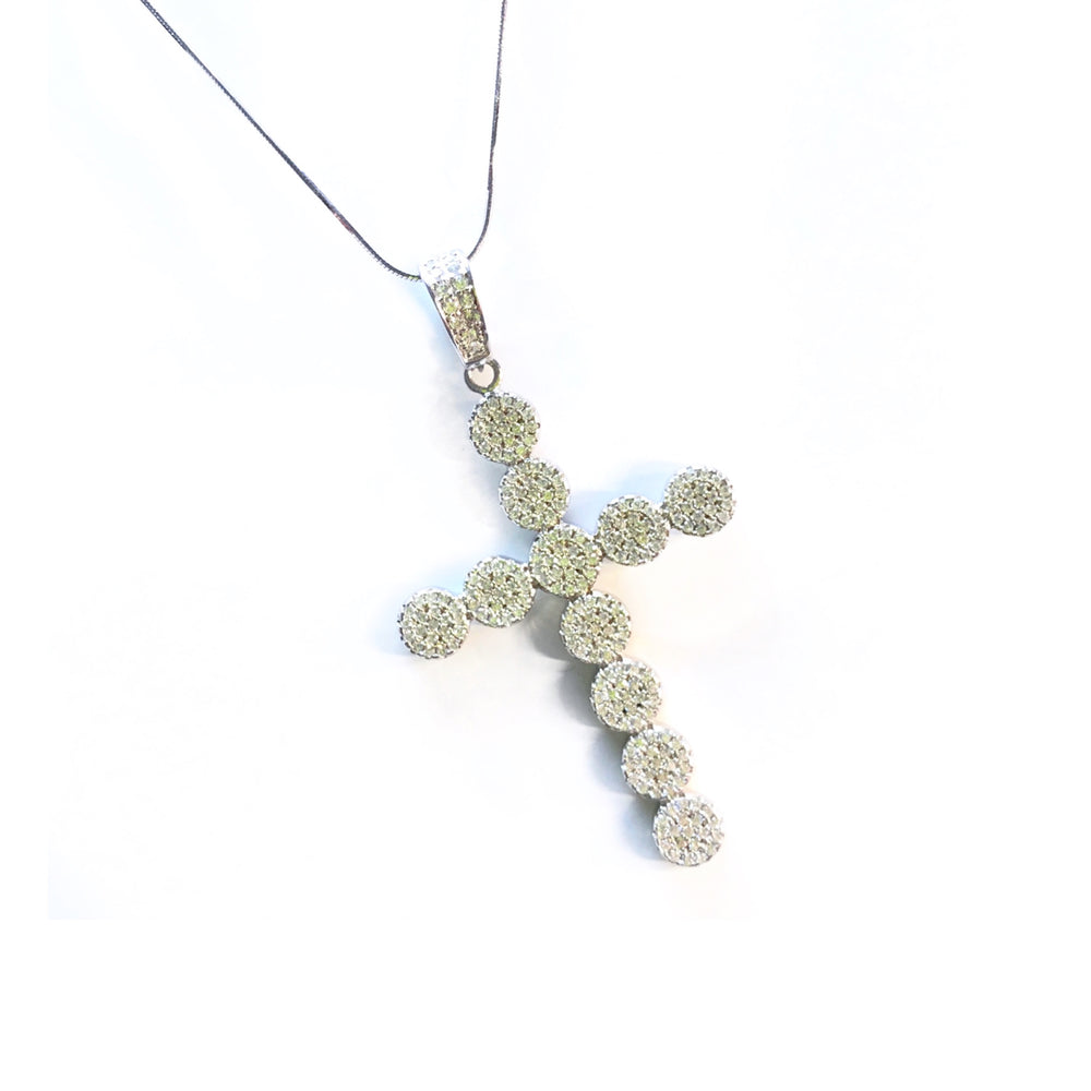 Icey Cross Necklace