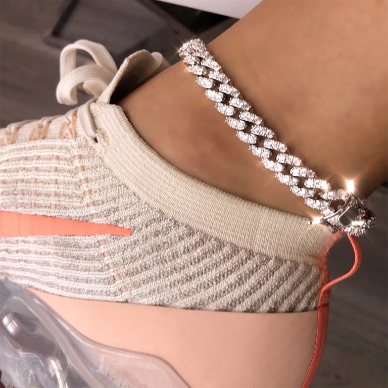 Cuban Chinx Anklet
