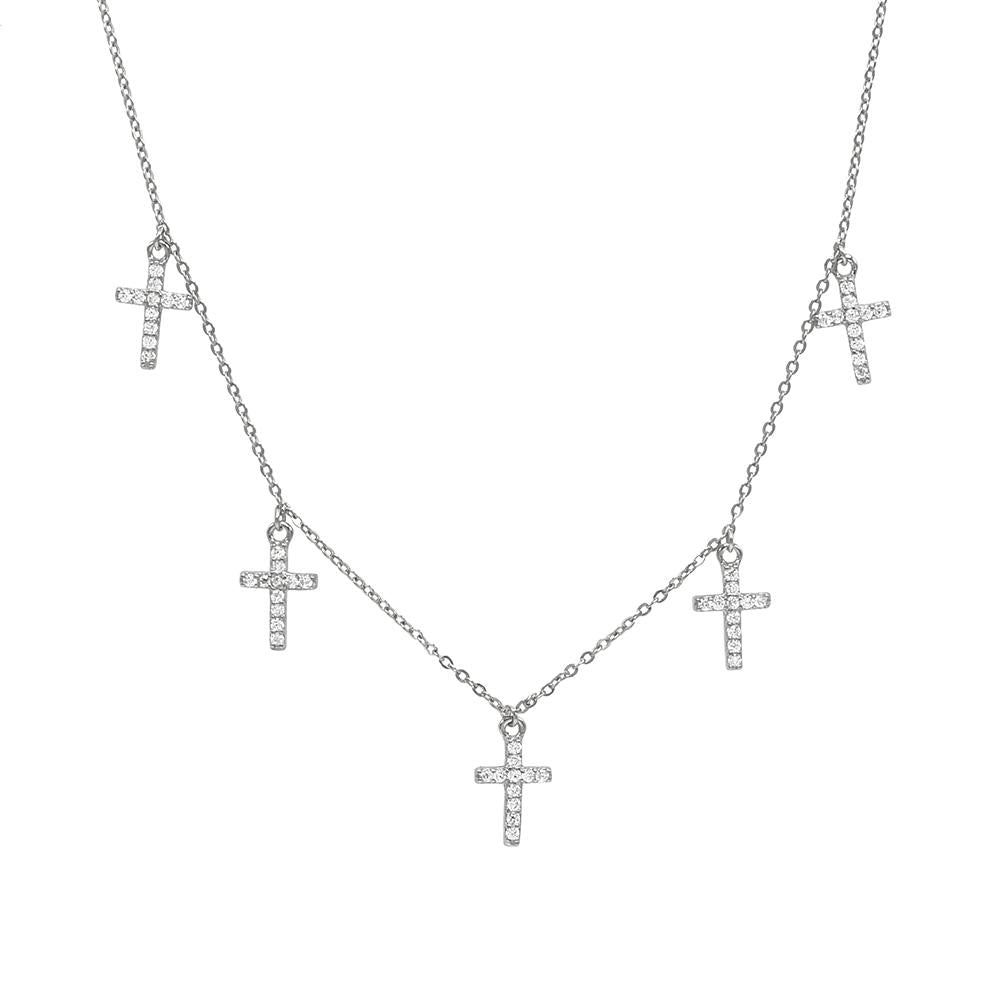 Minimalist Cross Necklace