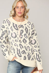 Leopard Exotic Comfy Sweater